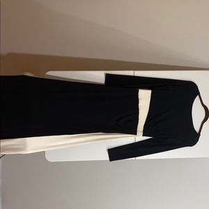 Ralph Lauren black and cream dress